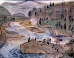 Без названия (Пейзаж. Река)